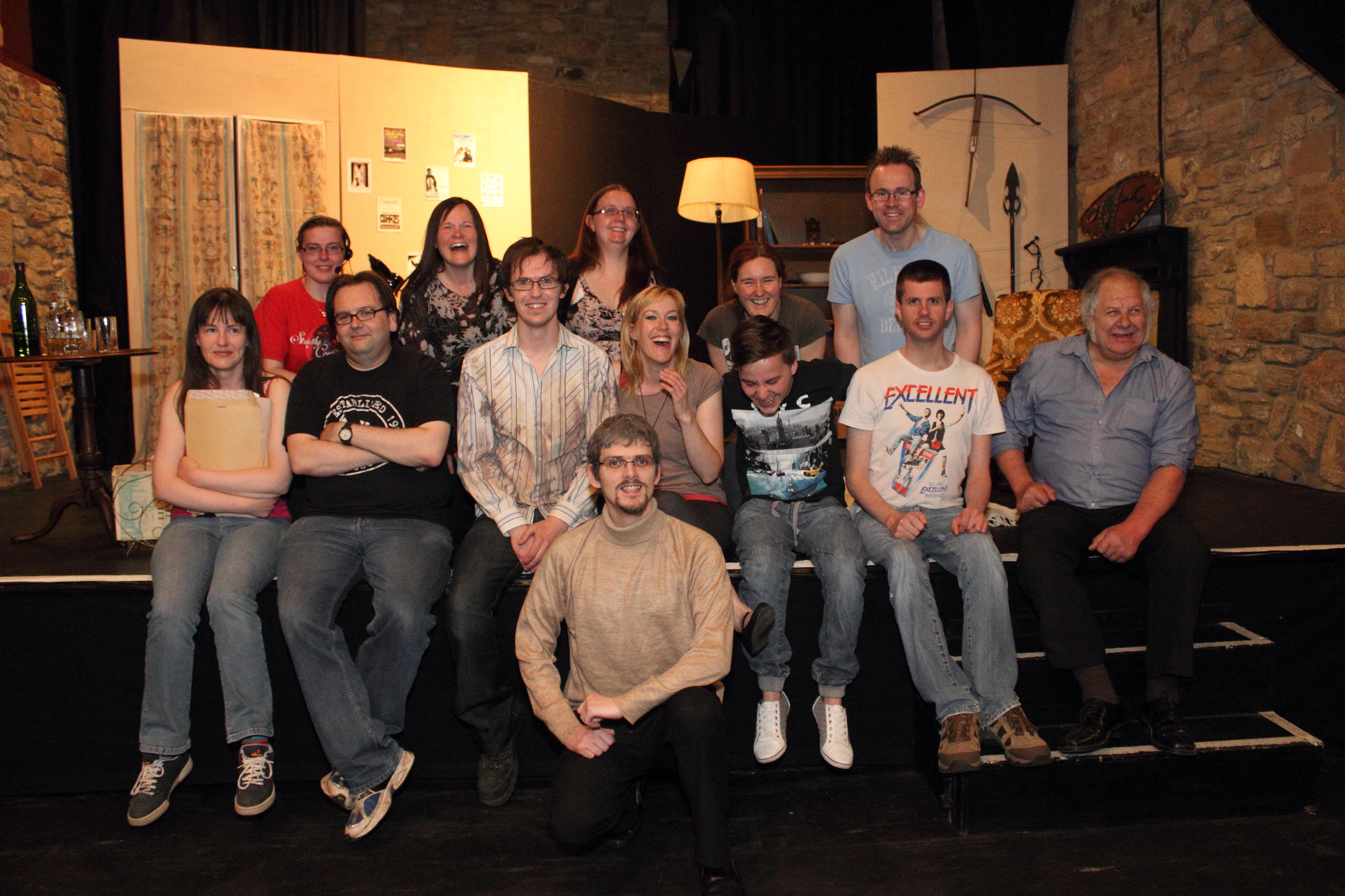 Commit error. Amateur theatre groups